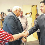 Visit from Secretary of State