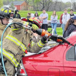 Northmor mock crash puts focus on teen-driving safety