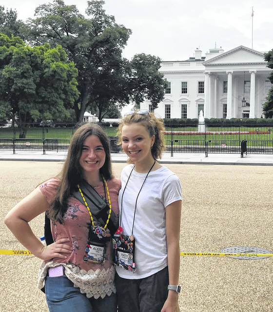 Alesia Tobin, left, and Kate Schmidt in Washington, D.C..