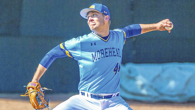 Morehead State redshirt junior pitcher Dalton Stambaugh was selected by the Baltimore Orioles.