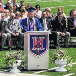 Highland's 137 graduates celebrate under sunny skies