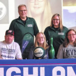 Pair of Highland athletes sign to compete in college