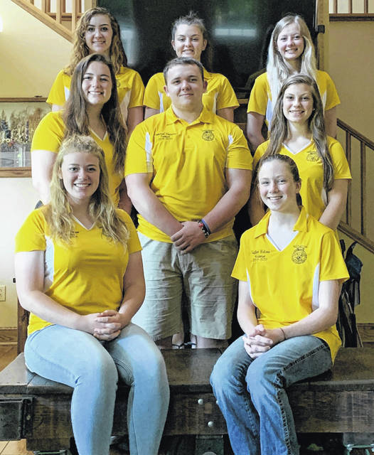 The Mount Gilead FFA chapter held its annual Officer Retreat on June 27-29th in Butler, Ohio.