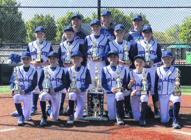 The Mid Ohio Bullets 11u team finished its season with a 32-3 record, winning the Coaches Against MM, Battle in the Ville and Eagle Classic (12u division) tournaments and placing second in the MAK Dayton. On the team were Brody Hatfield, Cameron Patterson, Brady Pavlak and Brady Taylor from Big Walnut; Caden Beck of Delaware Christian; Jayden Collins and Zach Church of Highland; Trevor Brubaker and Brady Carr of Northmor; Luke Chilicki of Olentangy and Eli Snyder of River Valley.