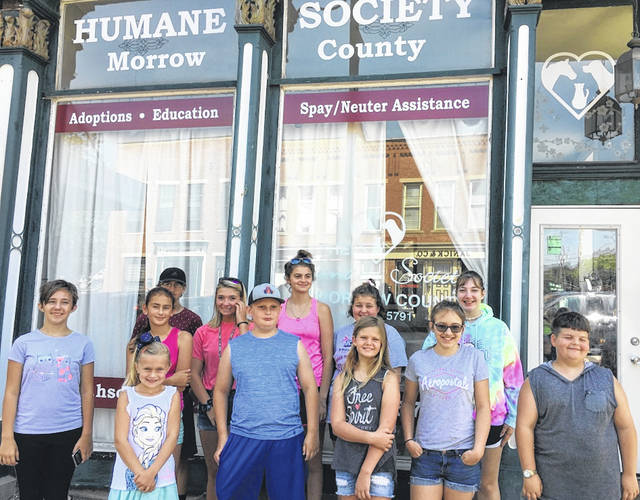 Country Guys and Gals held its meeting at the Morrow County Humane Society. The club held a car wash and bake sale on July 13.