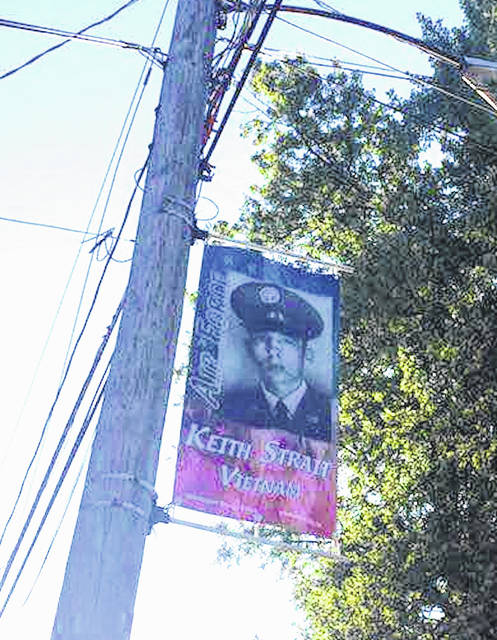 The village of Mount Gilead hung 112 veterans banners recently. The Williamsport Grange #1815 sponsored the Hometown Heroes Veterans Banner Project. The mission is to: Honor, Respect. Recognize, and Remember. This project is in cooperation with the Morrow County Joint Veterans Council, the Village of Mt. Gilead, and Photorama Studios of Galion. They will be dedicated and sponsors recognized on Sept. 28 prior to the Victory Shaft Centennial celebration. It will take place at 11 a.m. that day at First Baptist Church of Mount Gilead, 51 W. High St. The banners were paid for with private donations.