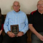 Avid bowler Peyton receives 50-year award