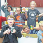 Art Club collects canned food