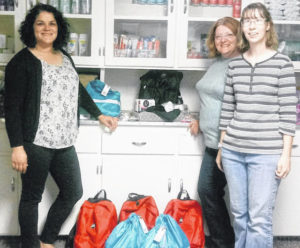 Women United gives care packages