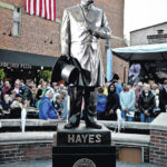 Hayes finally comes home