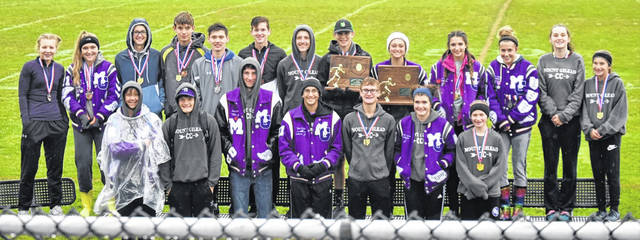 Both Mount Gilead cross country teams earned regional championships on Saturday while competing in the Division III meets at Pickerington North.