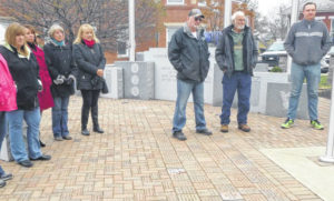 Bricks dedicated, respects paid for Morrow County veterans