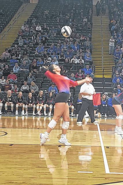 Highland edged by Bishop Fenwick in volleyball state championship - Morrow County Sentinel
