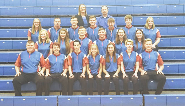 Rob Hamilton | Morrow County Sentinel In the above picture are Highland's boys' and girls' bowling teams.