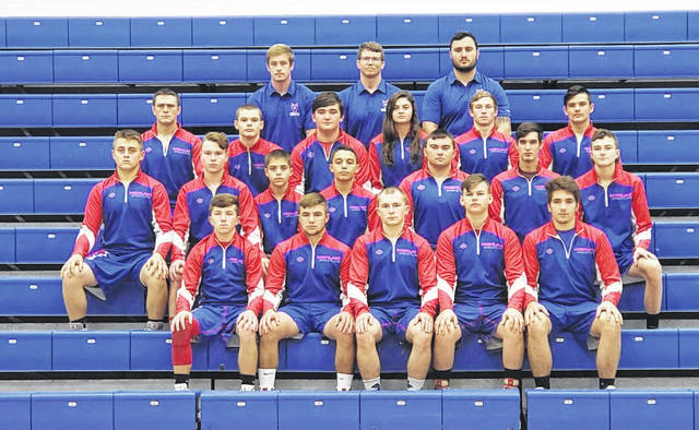 Rob Hamilton | Morrow County Sentinel Pictured above is this year's Highland wrestling team.