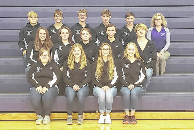 Rob Hamilton | Morrow County Sentinel The Mount Gilead winter swim team is in the above picture.