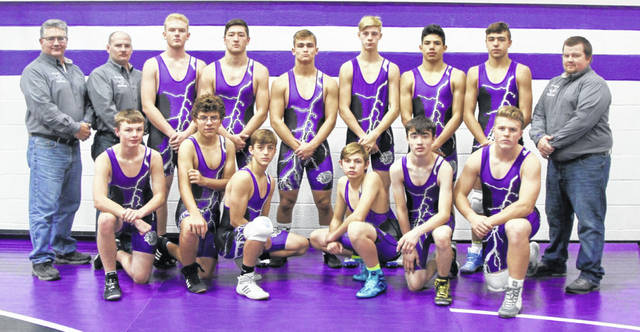 Courtesy Photo | Gwen Shipman In the above photo is Mount Gilead's 2019-20 wrestling team.