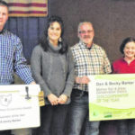 Barkers honored by Soil and Water Conservation District