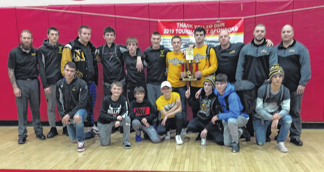 The Northmor wrestling team claimed the championship Saturday at the Big Walnut Invitational.