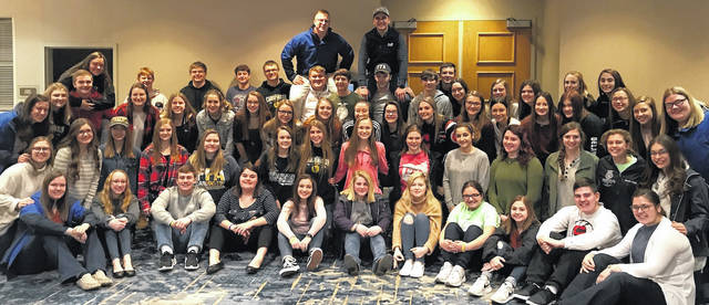 Fifty-five Cardington FFA members attended a conference this month in Columbus.