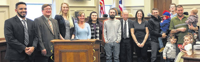 Morrow County Court of Common Pleas recently held its Substance Abuse Court Winter Graduation, where seven graduates were honored. The ceremony took place on Thursday, Jan. 30, in the Morrow County Courthouse's south courtroom.