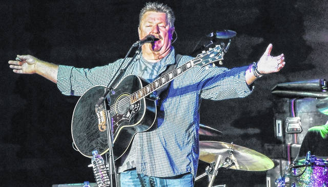 Joe Diffie performed at the 2019 Morrow County Fair.