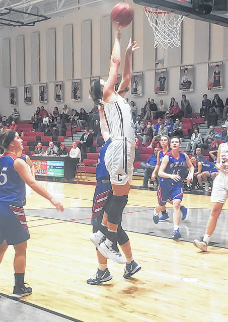 Cardington senior Casey Bertke was selected as the District 11 Division III girls' basketball player of the year.
