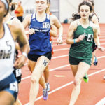 Mount Gilead track and field athletes at state indoor meet