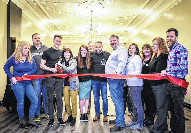 Morrow County Chamber of Commerce held a ribbon cutting Friday at The Village Gathering Place in downtown Mount Gilead.