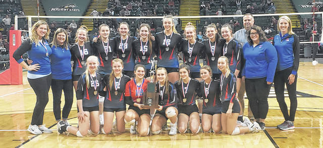Highland announced they would be returning to the MOAC for sports after spending the past three years in the KMAC. Pictured above is the school's state runner-up volleyball team from this past fall.
