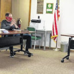 Village council meets with safety in mind
