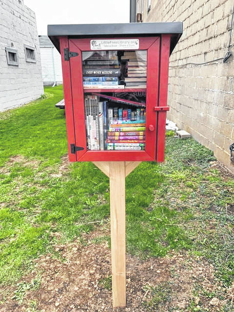Did you know Cardington is home to multiple authors, including nationally-recognized author Mindy McGinnis? Many thanks to Mindy for her generous donation of a Little Free Library stocked with lots of great books for middle and high schoolers. It is located next to the Cardington Market. Take a book, share a book.