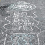 Hopscotch a favorite outdoor game for Mount Gilead family