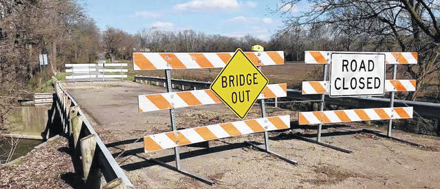 With federal funding now approved, work should begin in early May for County Road 23 bridge and County Road 40 culvert replacement.