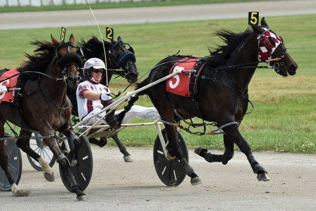 File photo | Galion Inquirer The Crawford County Fair has announced its 2020 schedule. It includes two days of harness racing at 5:30 p.m. on Wednesday, July 22 and Thursday, July 23. The fair runs Monday, July 20 through Saturday, July 26.