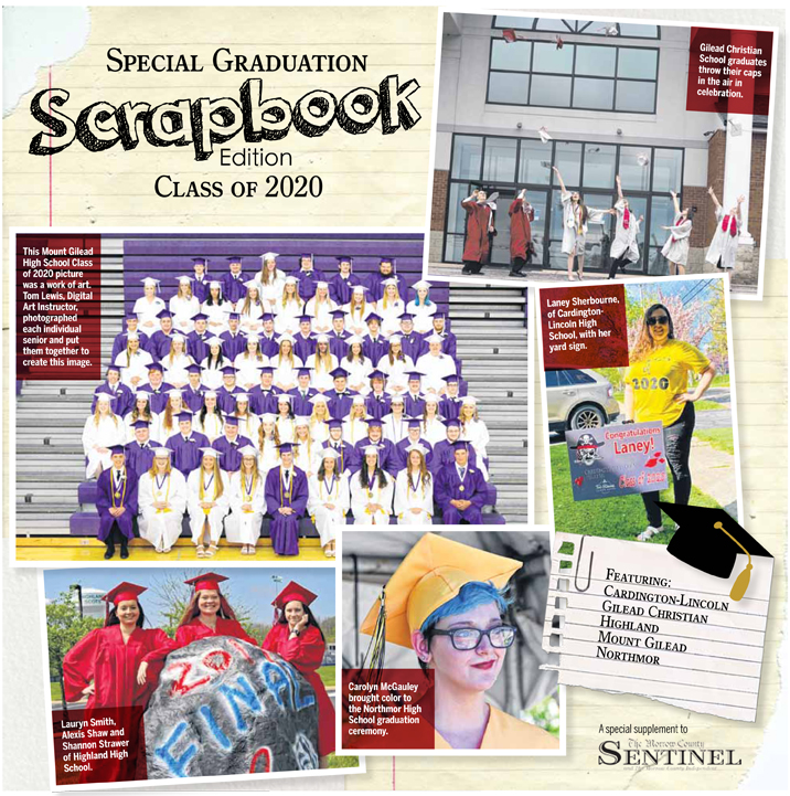 Special Graduation Scrapbook Edition Class of 2020