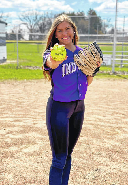 Mount Gilead's McKenzie Bump has committed to play softball for The Ohio State University.