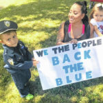 Residents Back The Blue