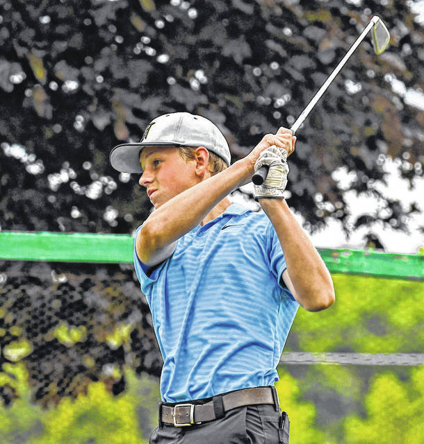 Grant Bentley took first place in the 13-15 age group in Monday's HOJGA tournament at Valley View.