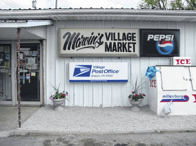 Today you can get your mail and buy groceries at Marvin's Village Market, 7500 County Road 242, Johnsville. It is a Village Post Office.