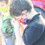 Gilead Christian School students gather at 'The Pole'