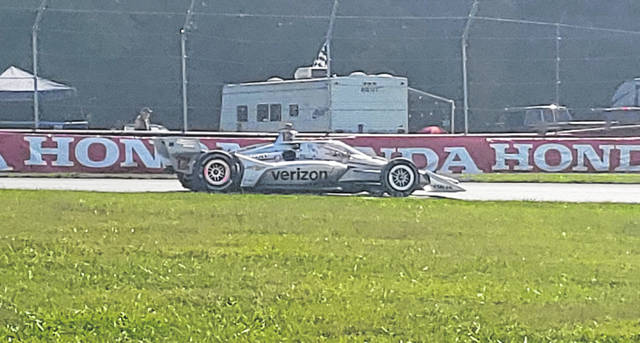Will Power won Saturday's IndyCar series race at Mid-Ohio Sports Car Course.
