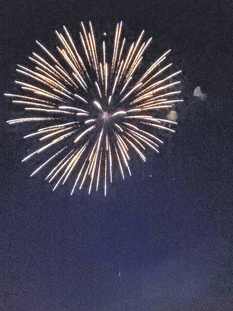 The village spearheaded a fireworks display for the 4th of July celebration, despite the challenges of COVID-19. Businesses and individuals responded and provided funding for the display.