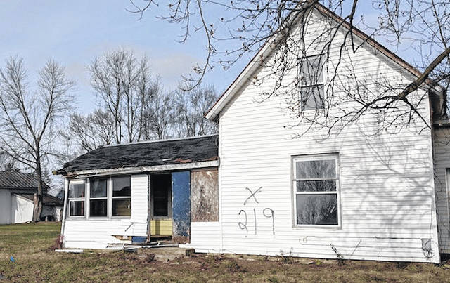 The abandoned house on Union Street in Edison is slated for demolition this month.The new owner has plans to build two new homes on this large double lot.