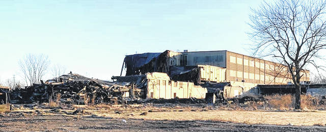 Demolition of the former HPM plant on the west side of Mount Gilead continues. It began Dec. 22, 2020. No timetable has been established for completion of the project. The plant ceased operating in 2009, bringing an end to 132 years of manufacturing in the village.