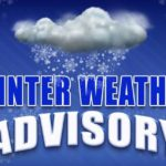 National Weather Service issues winter weather advisory