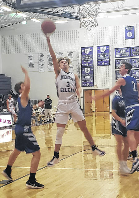 Matthew Bland led Mount Gilead with an 18-point effort in their Friday win over visiting Danville.