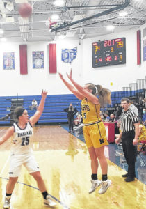 Highland girls open 2021 with win over Northmor