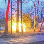 Fire at Hidden Lakes Campground