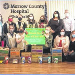 Hospital thanks local Girl Scout troop for cookie donation